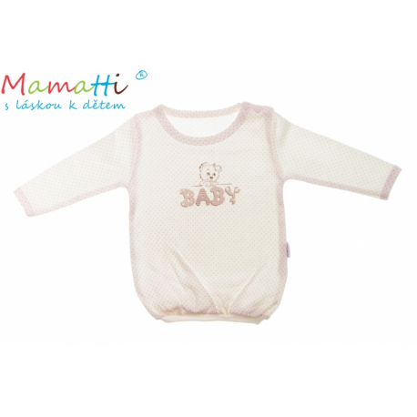 Bavlnené tričko Mamatti -Baby