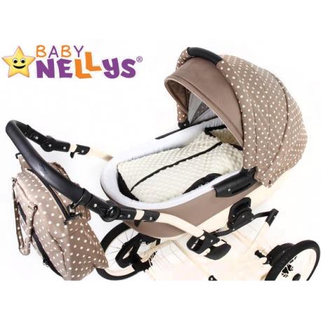 Fusak nielen do autosedačky Baby Nellys ® MINKY - mátový medvedík