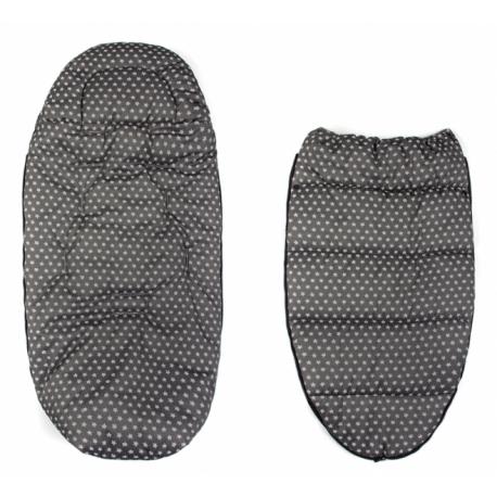 Fusák Maxi Baby Nellys ® 105x50cm - bublinky béžové