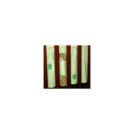 Krásny volánik pod matrac - Ježek zelený
