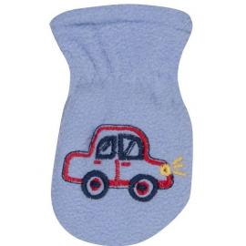 6b2ae02156ca Zimné detské rukavice s kožušinou - šnúrkou YO - granátová modrá ...
