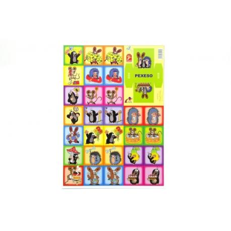 Pexeso Krtek spoločenská hra 22x30cm