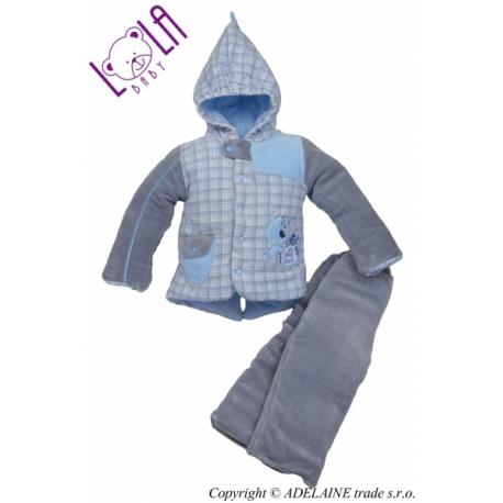 Oteplenie komplet - bundička a nohavice DOGI