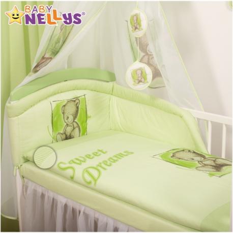 Mantinel s obliečkami Sweet Dreams by Teddy - zelený