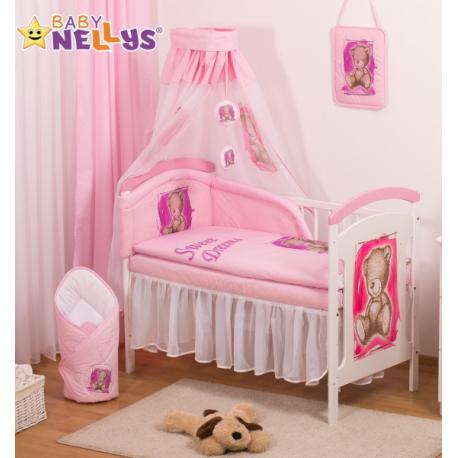 Sifónové nebesia Sweet Dreams by TEDDY - růžové/biele