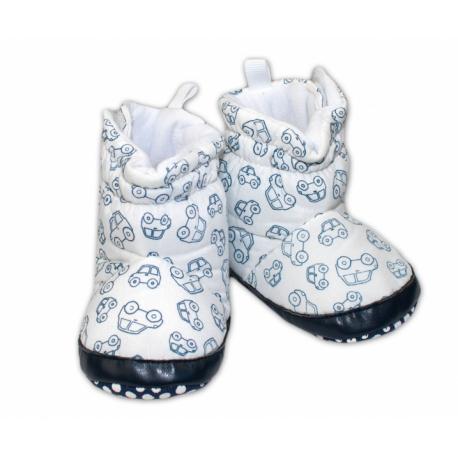 Zimné capačky/botičky YO! - biele