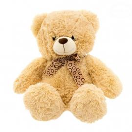 Plyšový sediaci medvedík 47cm - béžový