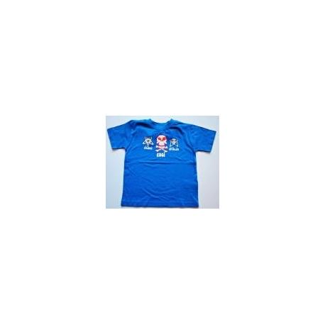 Bavlnené tričko pre chlapcov - Lebky
