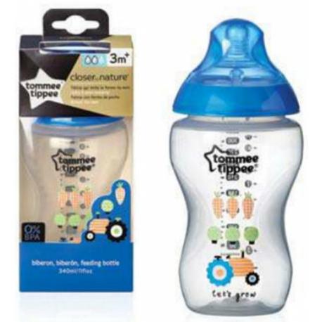 Fľaša Tommee Tippee Boy modrá - 340ml