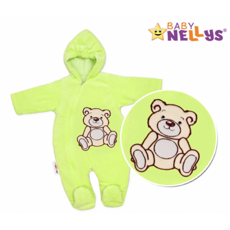 Kombinézka/overal Medvedík Teddy - zelená