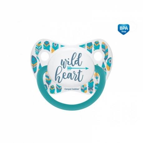 Cumlík anatomický Wild Heart 18m+ C - tyrkysový