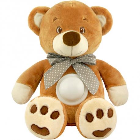 Baby Mix Plyšový medvedík s projektorom