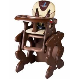 Židlička CARETERO Primus brown