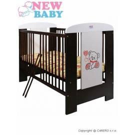 Postýlka NEW BABY Camilla - ořech