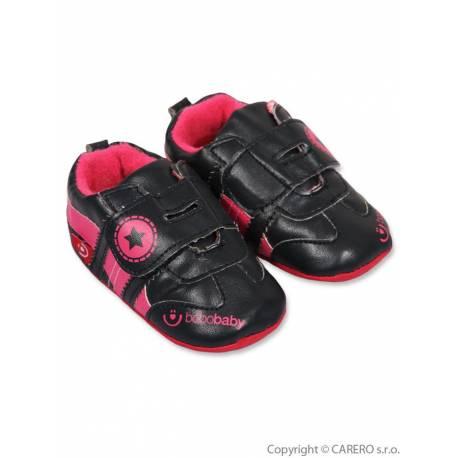 Dětské capáčky Bobo Baby 6-12m černé