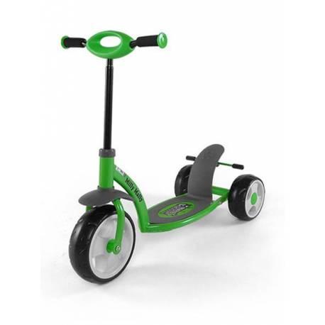 Dětská koloběžka Milly Mally Crazy Scooter green