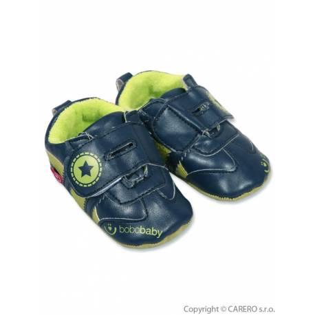 Dětské capáčky Bobo Baby 6-12m modré