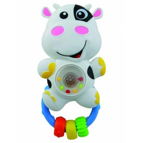 Dětské chrastítko se zvukem Baby Mix kravička
