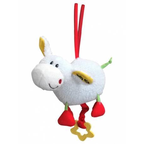 Dětská plyšová hračka s hracím strojkem Baby Mix ovečka