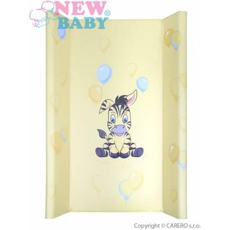Přebalovací nástavec New Baby Zebra žlutý 50x80cm
