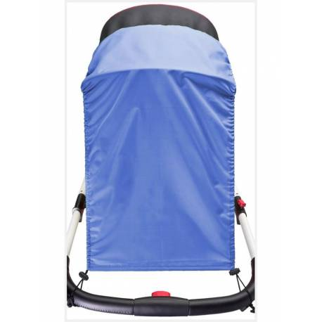 Sluneční clona na kočárek CARETERO blue