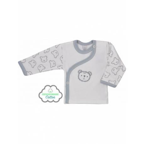 Kojenecká BIO košilka Koala Malí Medvídci béžová