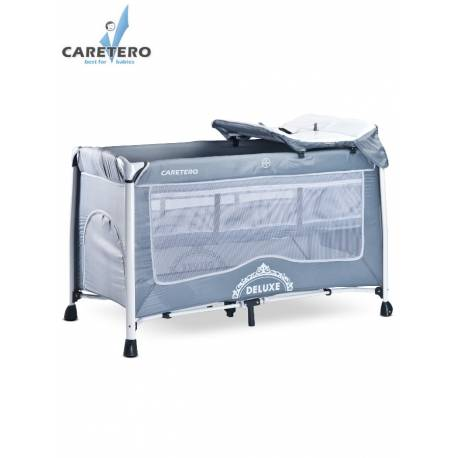 Cestovní postýlka CARETERO Deluxe grey