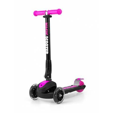 Dětská koloběžka Milly Mally Magic Scooter pink