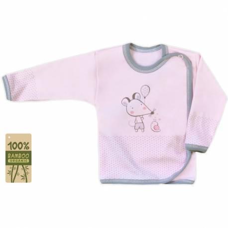 Kojenecká košilka Koala Mouse and Snail růžová