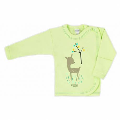 Kojenecká košilka Bobas Fashion Mini Baby zelená
