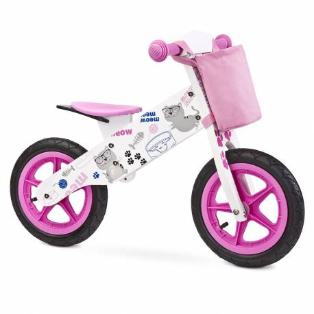 Dětské odrážedlo kolo Toyz Zap 2018 pink