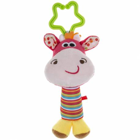 Plyšová hračka s chrastítkem Akuku jelen