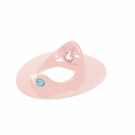 Dětské sedátko na WC myška růžové