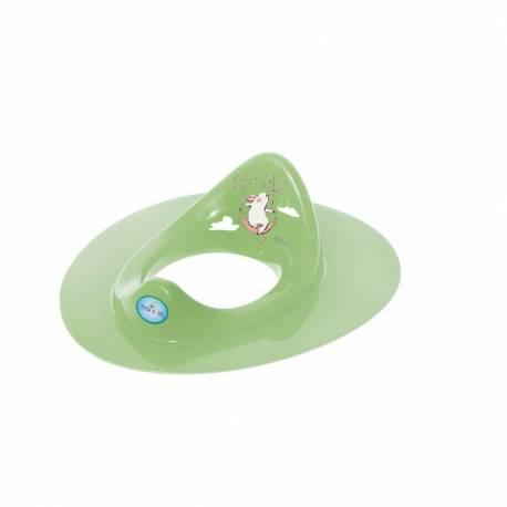 Dětské sedátko na WC myška zelené