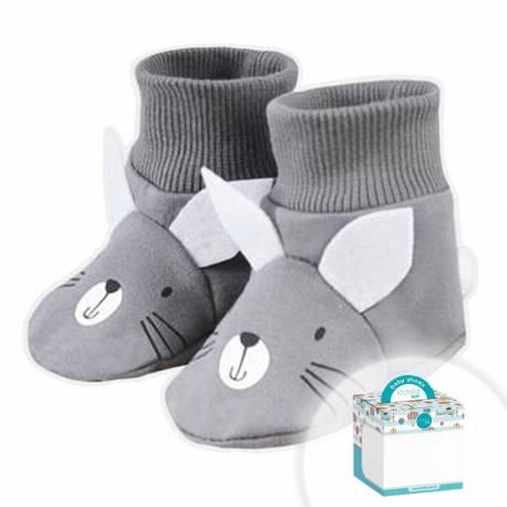 Kojenecké capáčky Koala Swing v krabičce šedé
