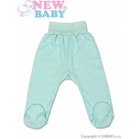 Dojčenské polodupačky New Baby tyrkysové