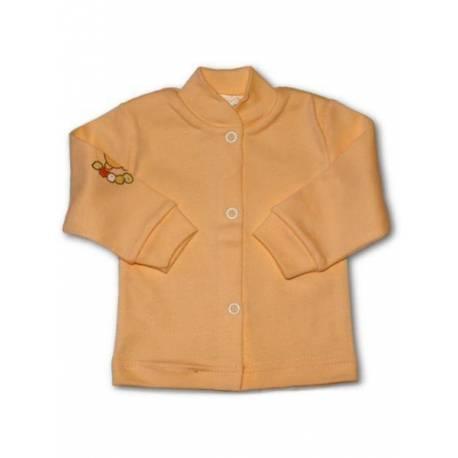 Dojčenský kabátik New Baby oranžový