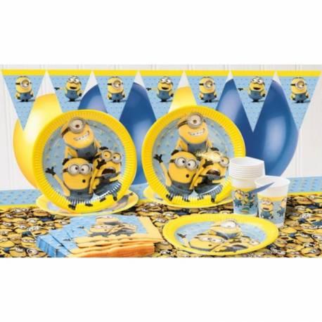 PROCOS girlanda vlajky Mimoňovia - Mimoni 9 ks