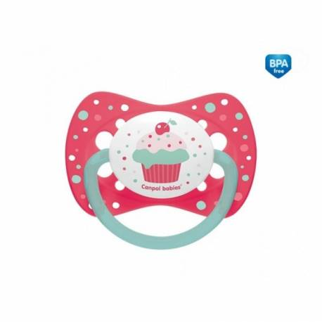 Cumlík symetrický Cupcake 6-18 B - ružový