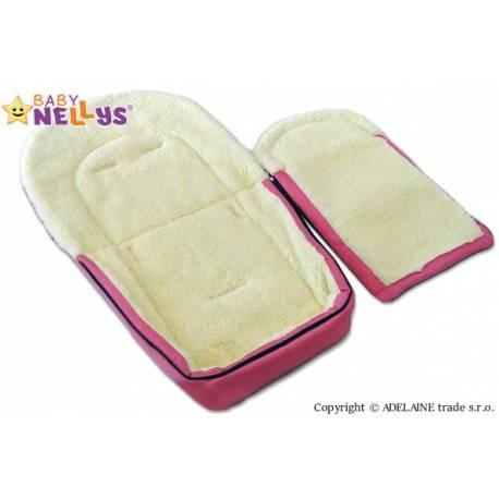 Multifunkčný fusak Vlna 4v1 Baby Nellys ® - amarant