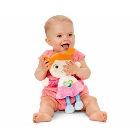 Bábika Emily s hrkálkou Chicco - ružová