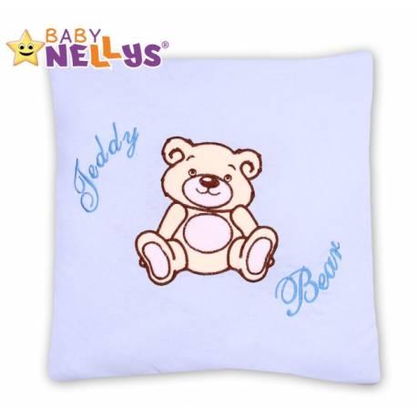 Vankúšik 40x40 Teddy Bear - sv. modrý