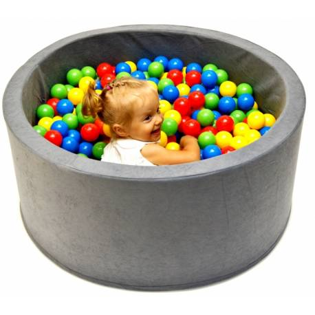 Bazén pre deti 90x40cm kruhový tvar + 200 balónikov - srdiečka