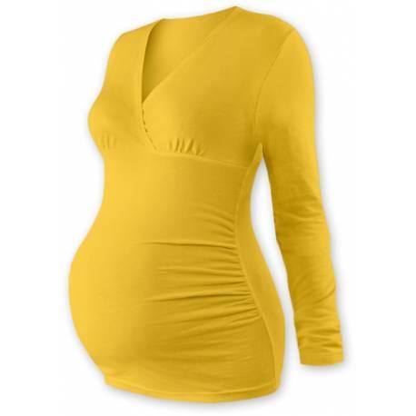 Teh. triko / tunika dl. rukáv EVA - žltooranžové