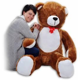 Plyšový Medveď Baby Nellys - Tm. hnedá - 180cm