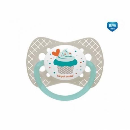 Cumlík symetrický Cupcake 0-6m A - sivý