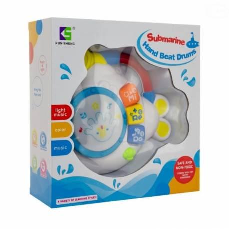 Interaktívna hračka s melódiou bubienok - Ponorka