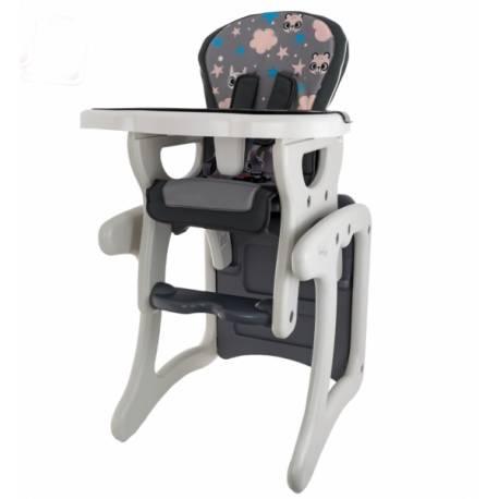 Jedálenský stolček - Veverička v šědé
