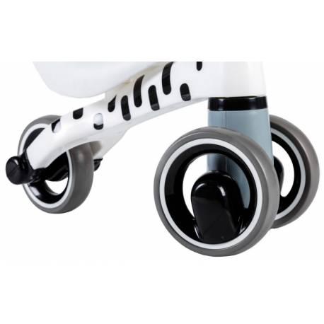 Odrážadlo / trojkolka Eco Toys, Zebra - biela
