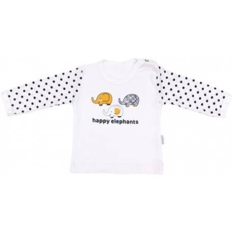 Bavlnené tričko Elephant, veľ. 80